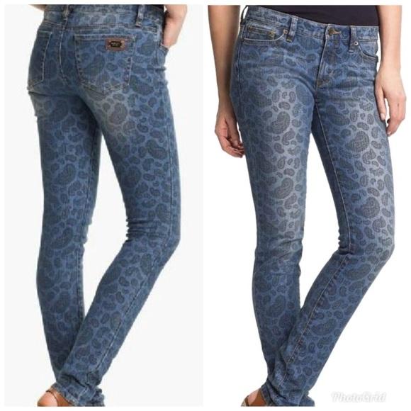 89df968a88ac9 Michael Kors Paisley Print Skinny Jeans Women 6. M 5b9bbacef63eea453557a0a8
